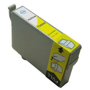 T1284 Compatible inktpatroon Geel 10 ml.